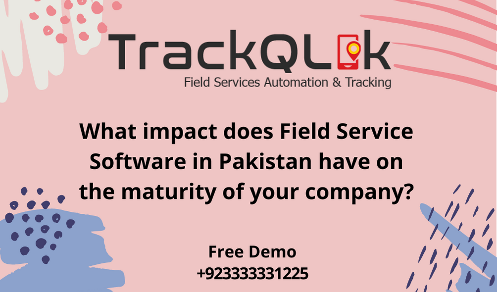 What impact does Field Service Software in Pakistan have on the maturity of your company?