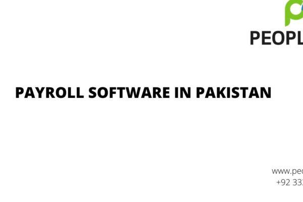 Best Payroll software in Pakistan